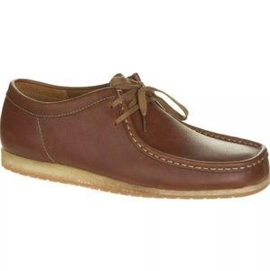 Clarks Originals Wallabee Tan Leather